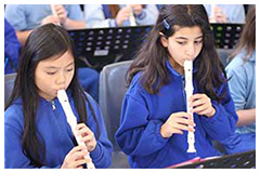 Year 4 and 5 recorder band