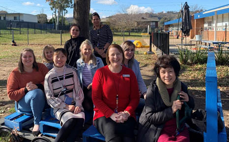 Mawson Preschool team